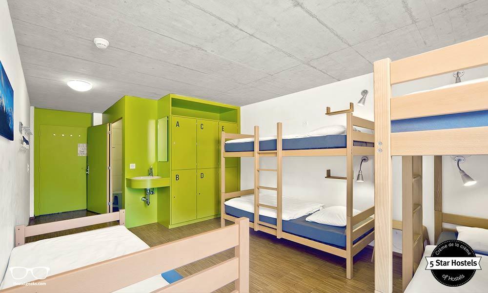 Hostel dorm at Backpackers Villa Sonnenhof