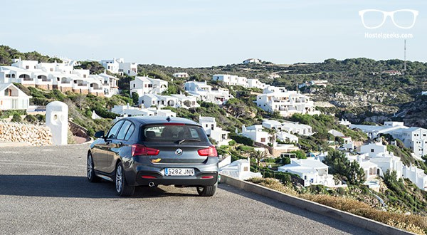 Car rental service in Menorca