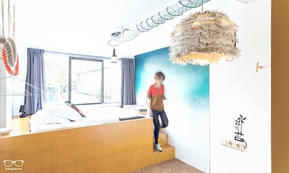 Design private room Boutique Hotel Ecomama Amsterdam
