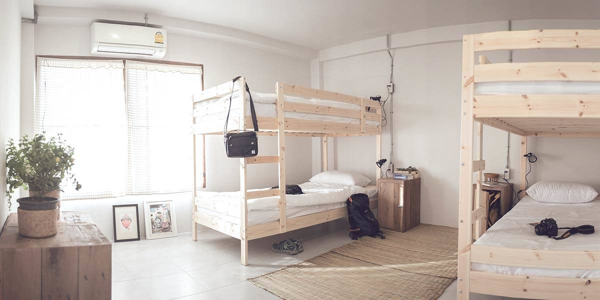Hostel room types - what are the differences?