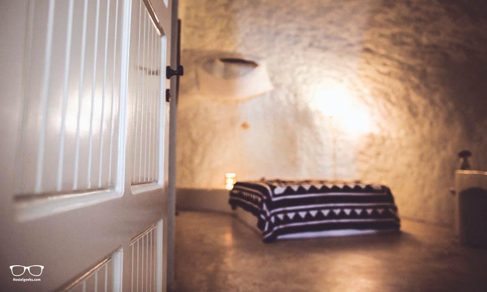 Private Room at Caveland Santorini