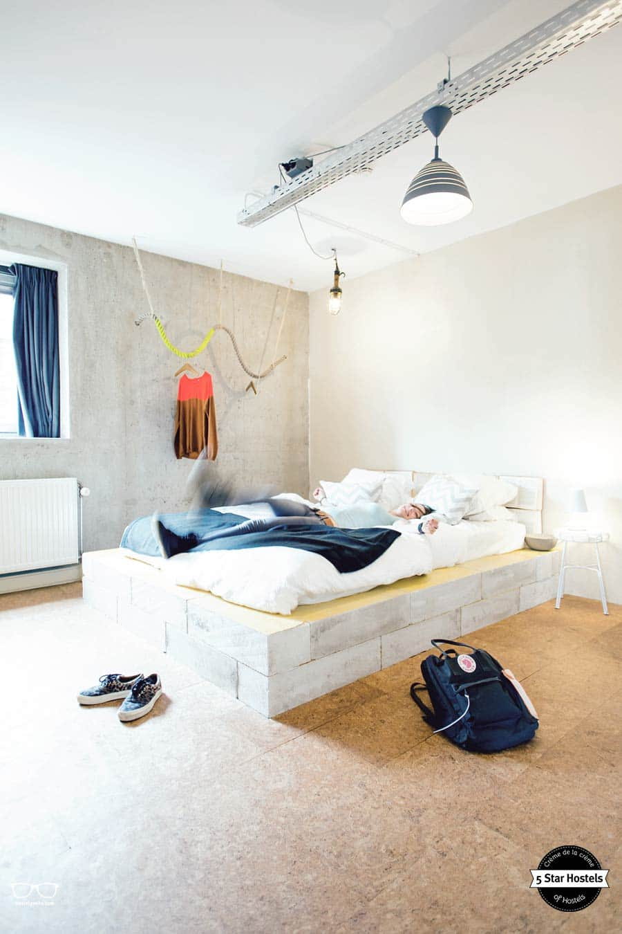 Ecomama Amsterdam and a stylish double room