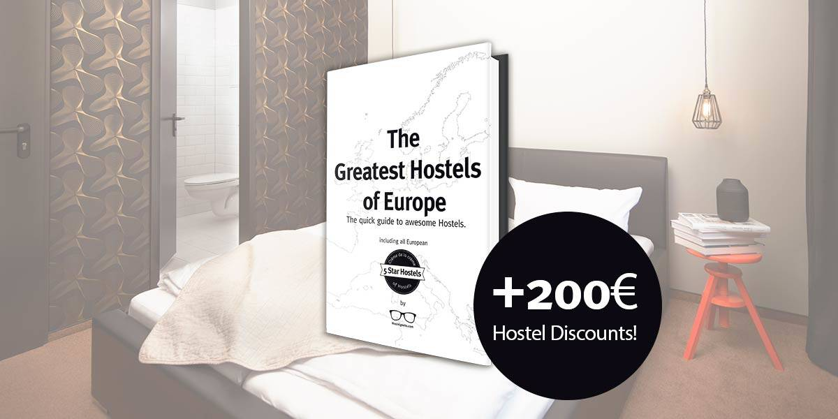 Get more than 200€ on Hostel Discounts!