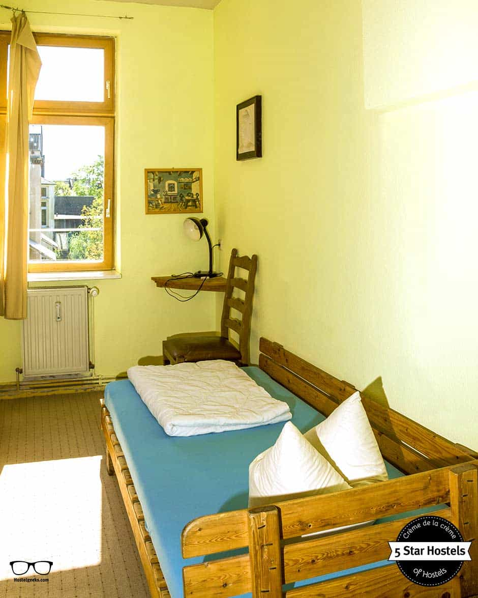 Single Room at Hostels, Lollis Homestay in Dresden, Germany