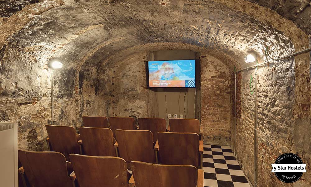 Awesome Cinema at Backstay Hostel