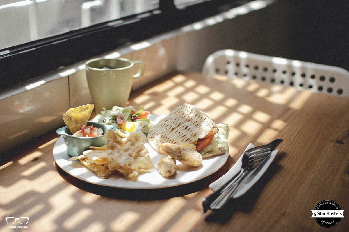 Food is an essential part of the hostel experience at WithInn