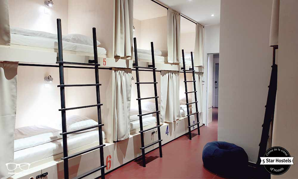 This is Maverick City Lodge in Budapest - the definition of what is a hostel
