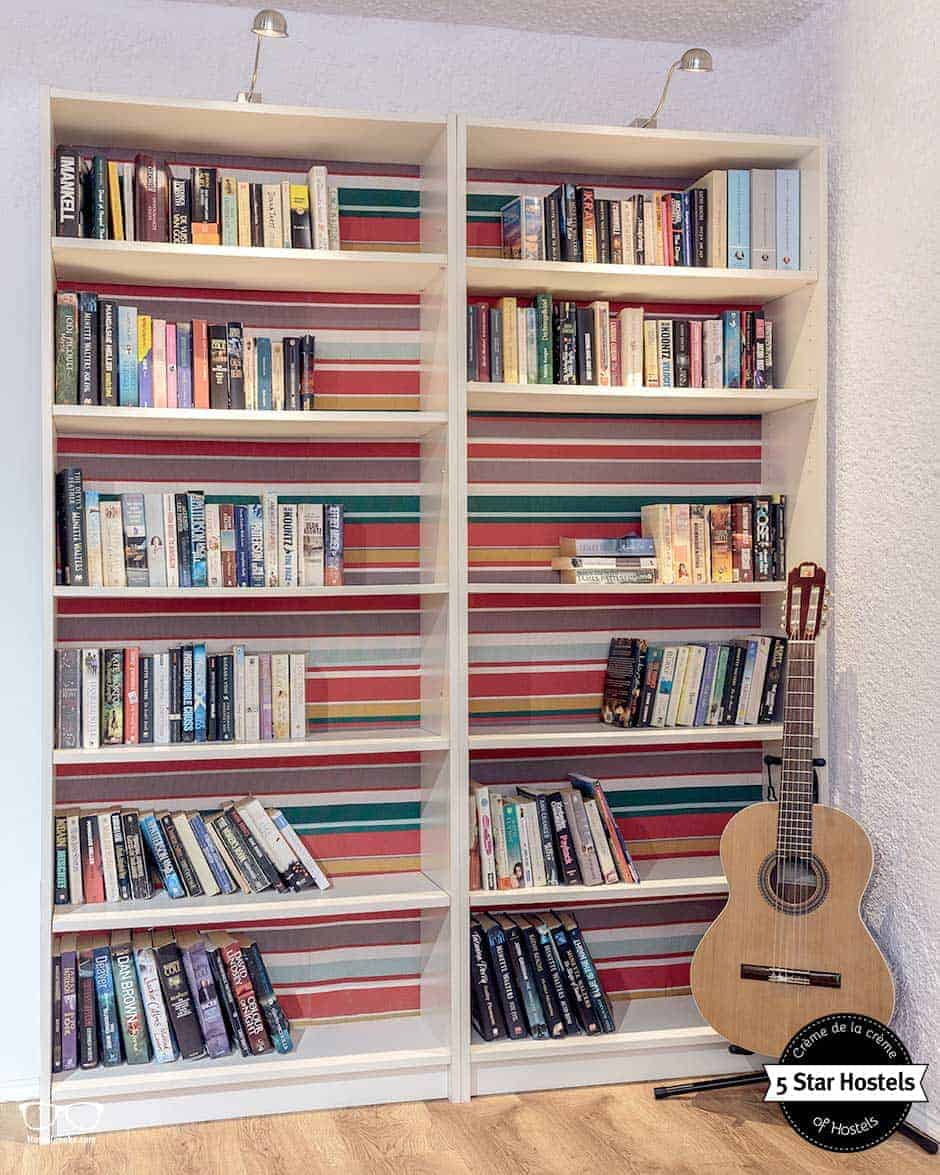 leave one, take one - book exchange at Stay Hostel Rhodes