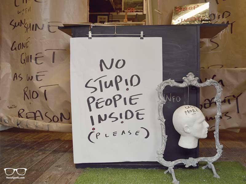 No stupid people, please?!