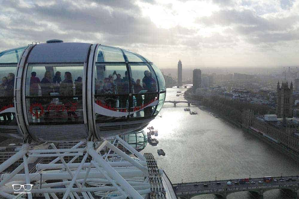 London Eye with views