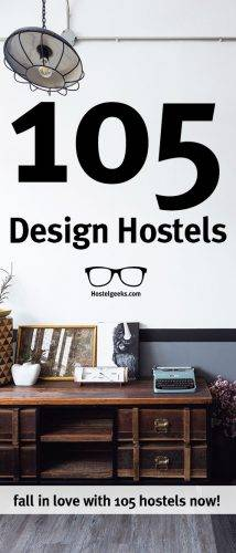 Ultimate List of +105 Design Hostels