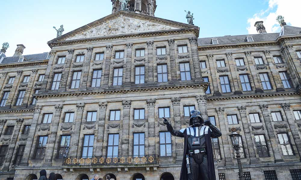 Darth Vader in Amsterdam