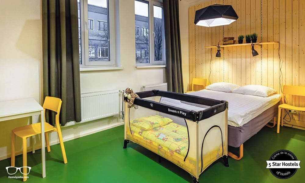 Hektor Design Hostel is as well family friendly