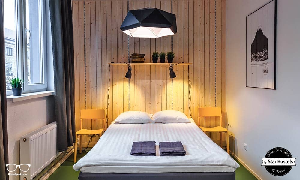 Have a good night sleep at Hektor Design Hostel Tartu