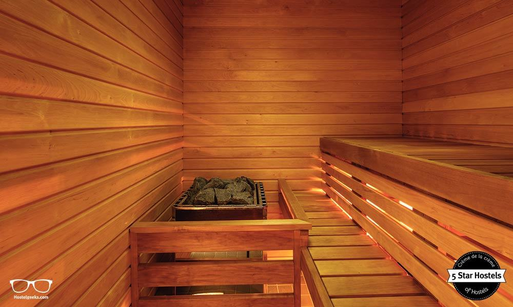 Steaming Sauna at a Hostel? Sure, at Hektor Design Hostel in Tartu