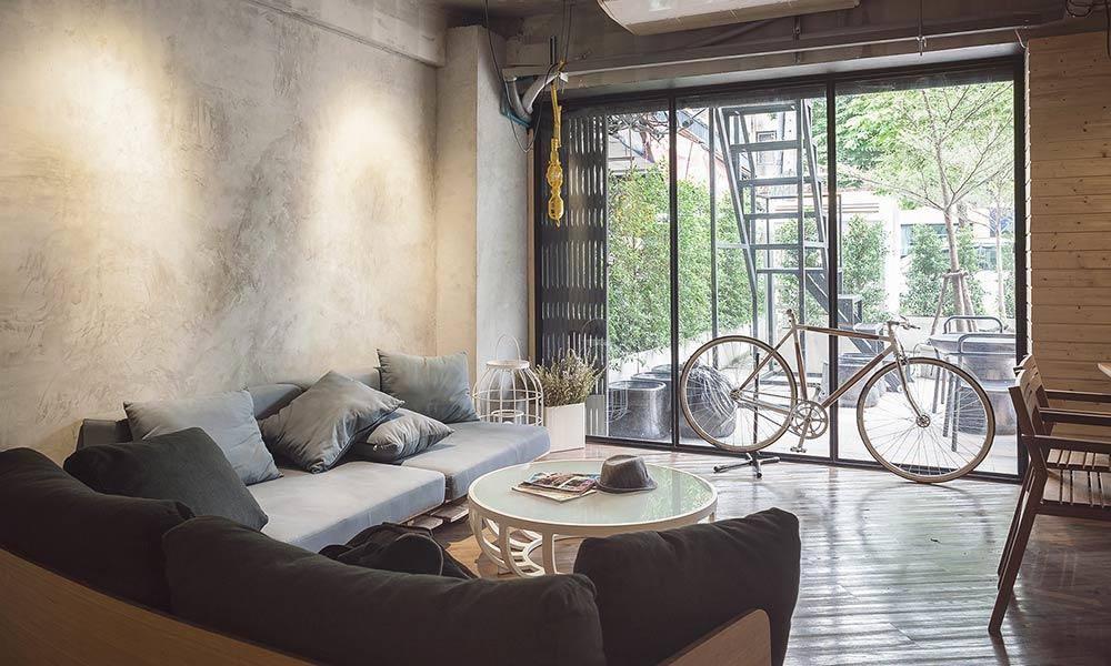 POD Hostel Cafe Designshop in Bangkok