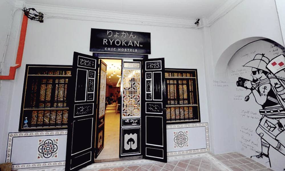 Ryokan Muntri Boutique Hostel in Penang