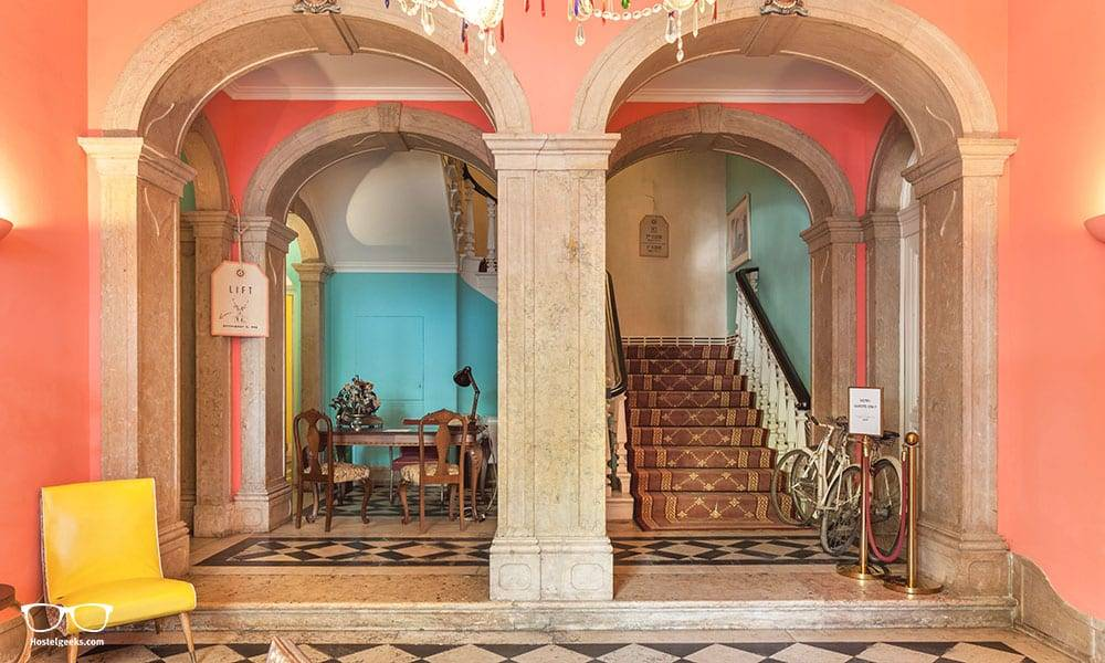 The Independente Hostel in Lisbon, Portugal