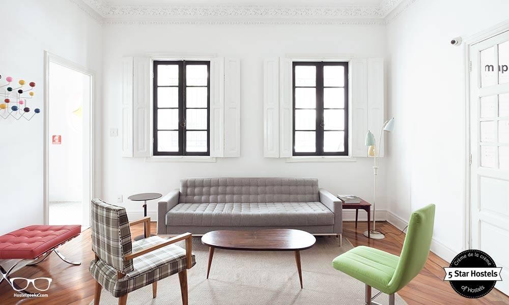 We Hostel Design in Sao Paulo