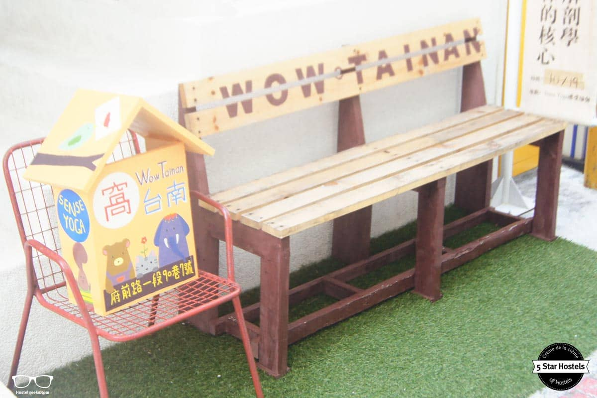 Welcome to Wow Tainan Hostel in Taiwan