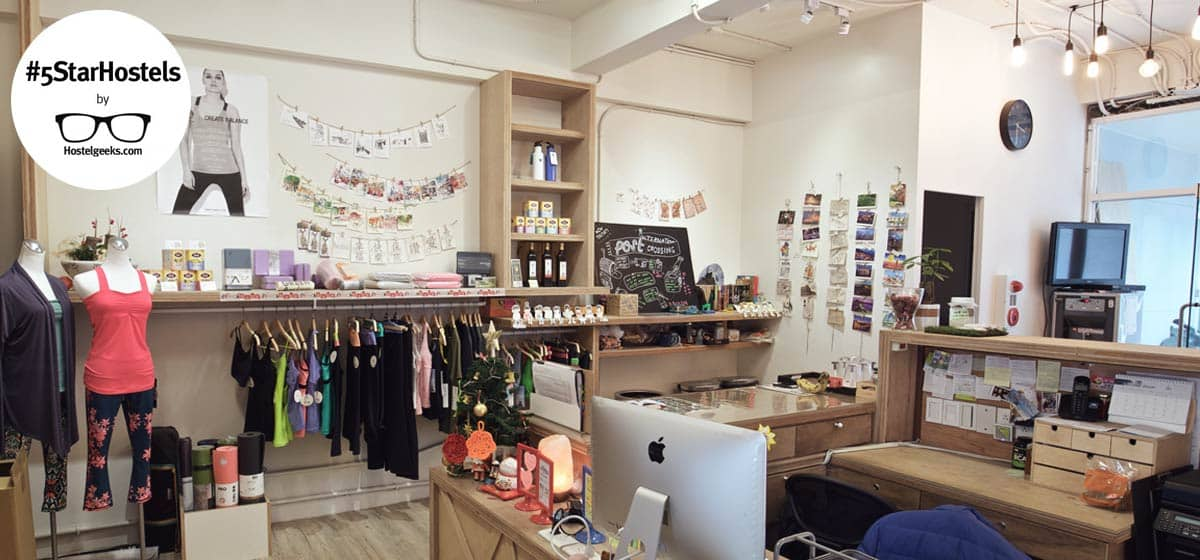 Wow Tainan - 5 Star Hostel with Yoga Studio and Honest Shop