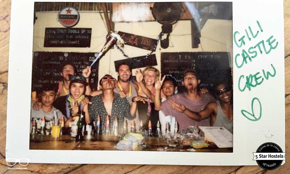 A love letter to the Gili Castle Team