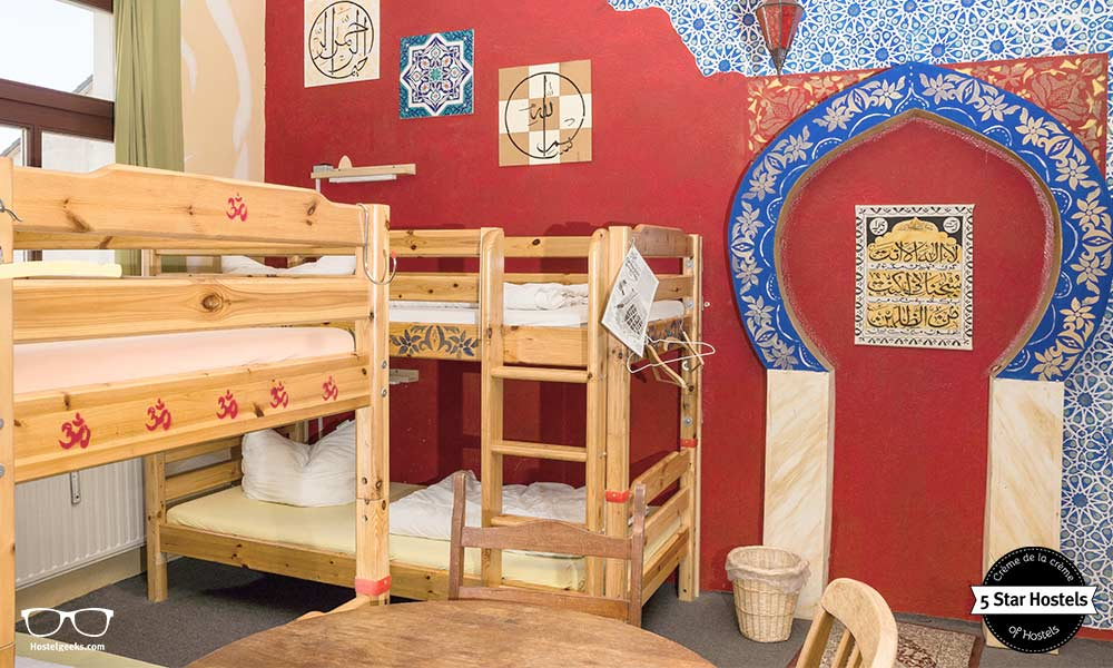 Lollis Hostel Zimmer der Religionen
