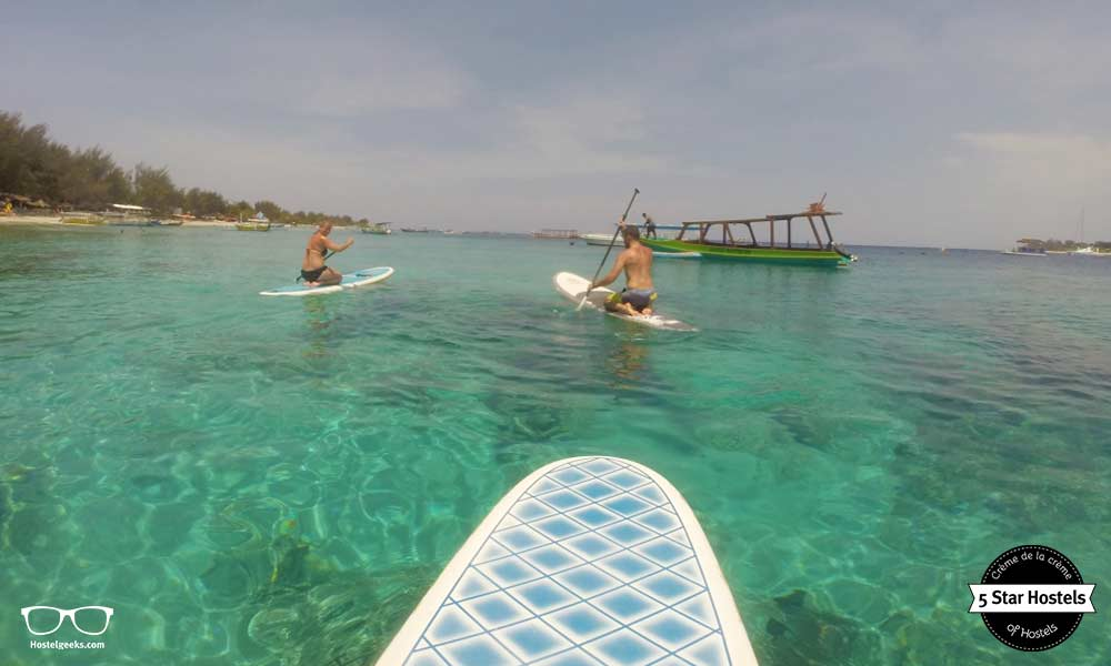 Paddle surfing, an incredible island and endless things to enjoy life