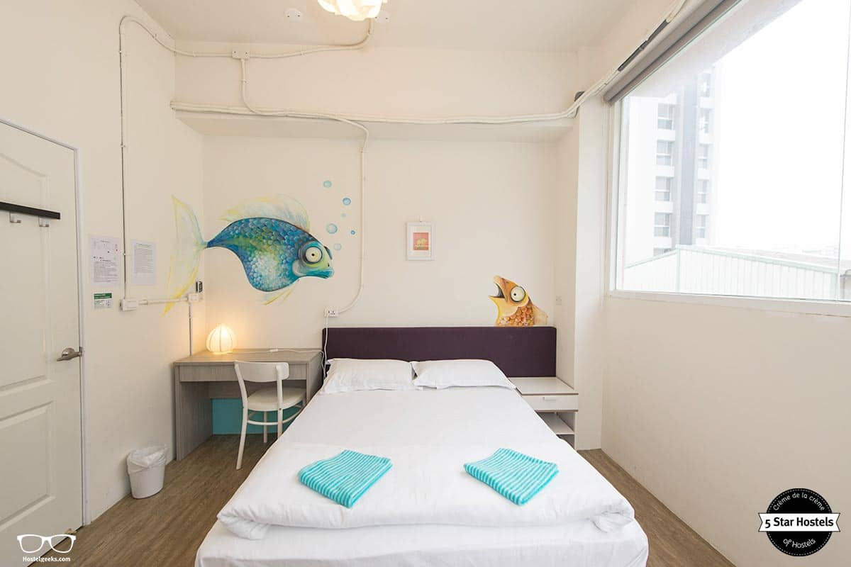 Wow Tainan Hostels Double Room