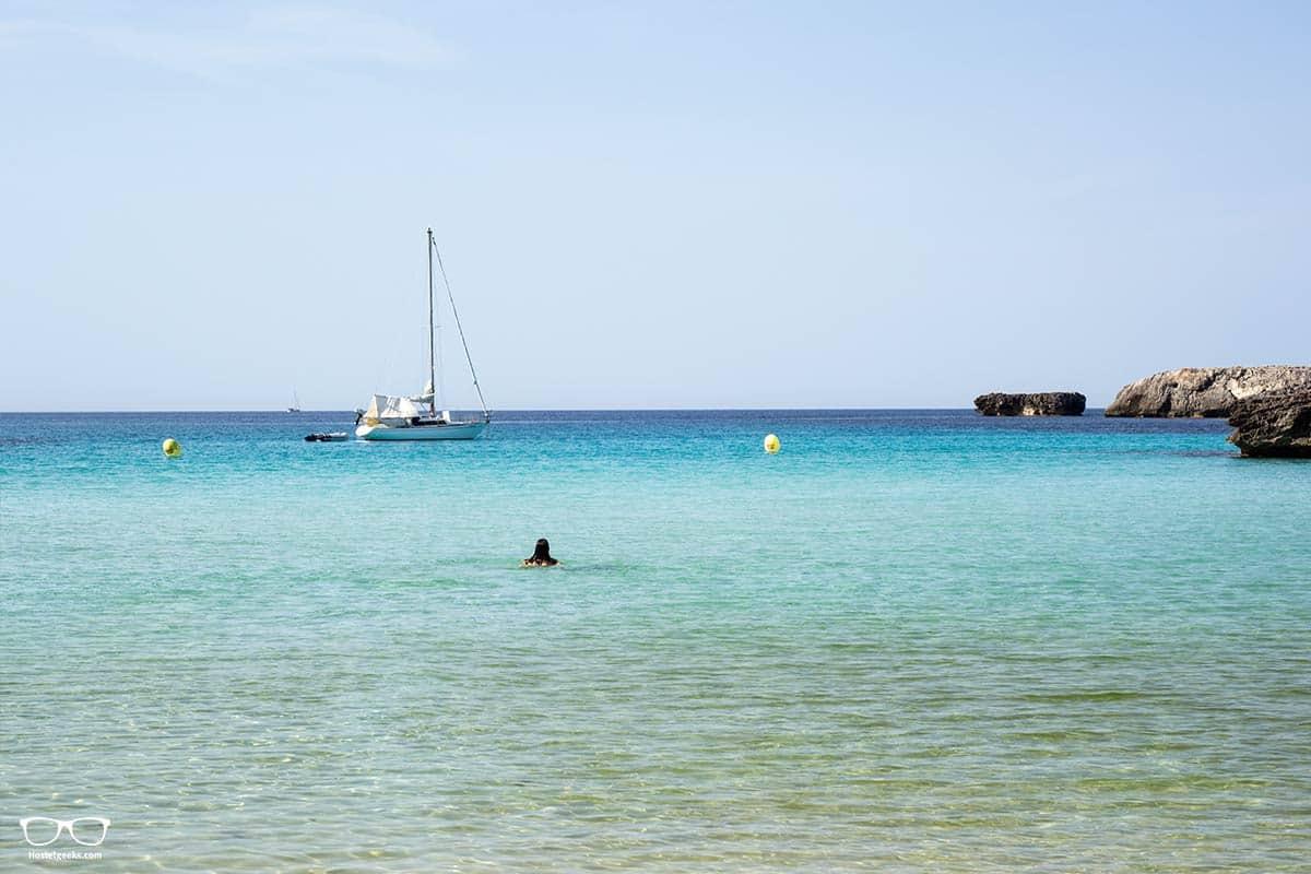 Cala Des Talaier in Menorca