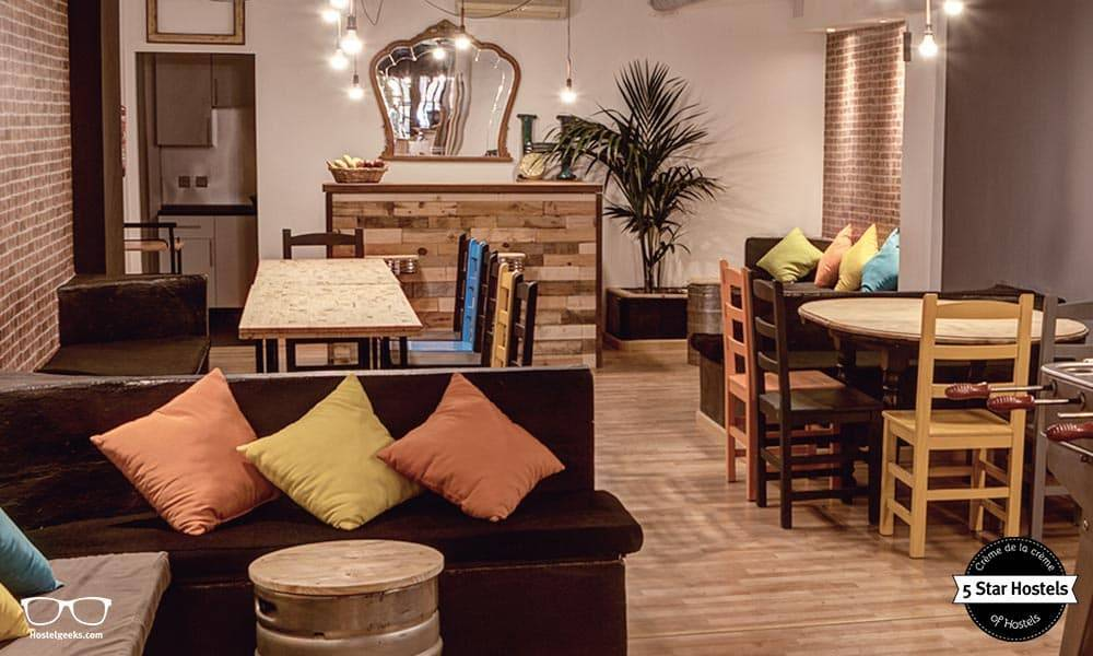 Cozy-common-are-at-Hostel-Ole-Alicante