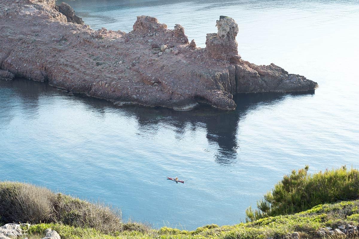 Cala Morell in Menorca