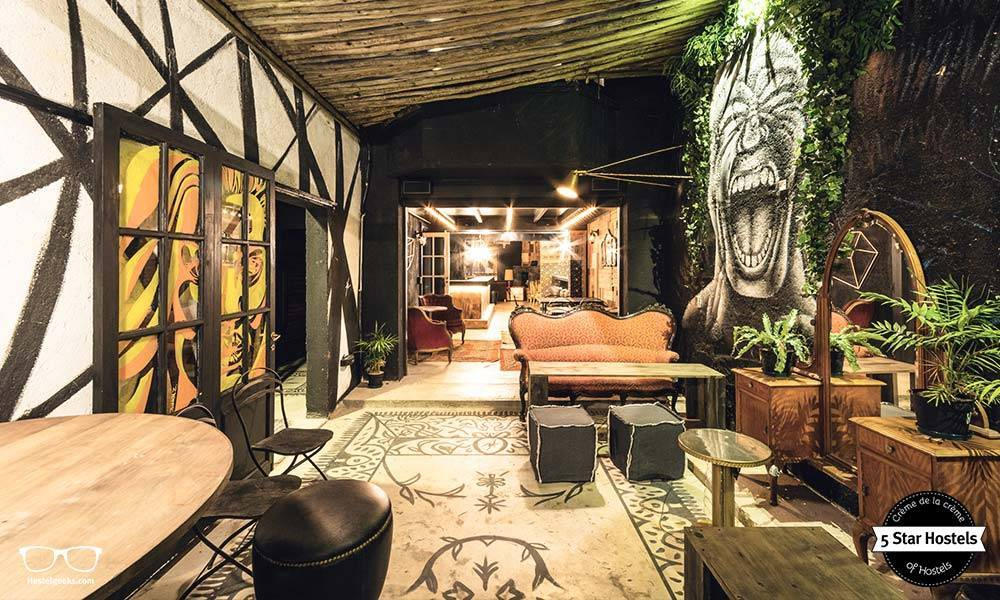 The Design Jungle at Onas Hostel in Córdoba