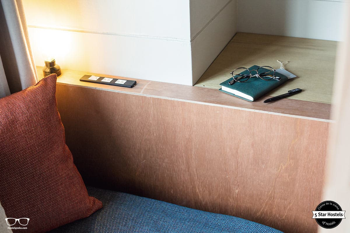 The first 5 Star Hostel in Japan knows your needs: The Share Hotel