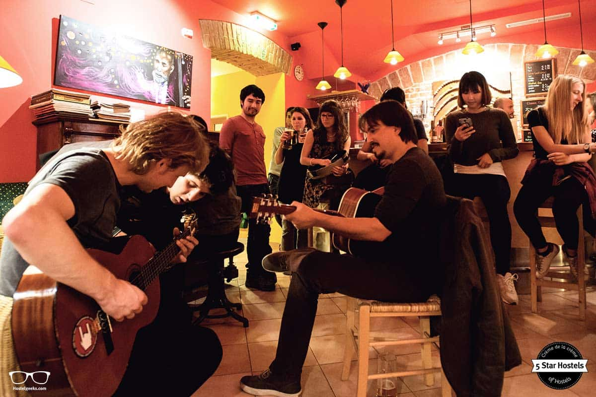 Jam Session at Hostel Ruthensteiner Vienna