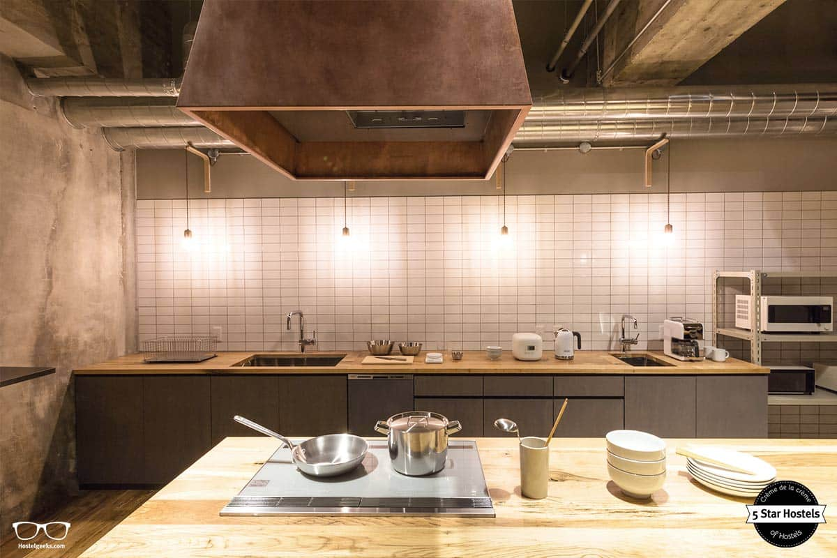 A 5 Star Hostel comes with a Kitchen - The Share Hotel Kazanawa Hatchi