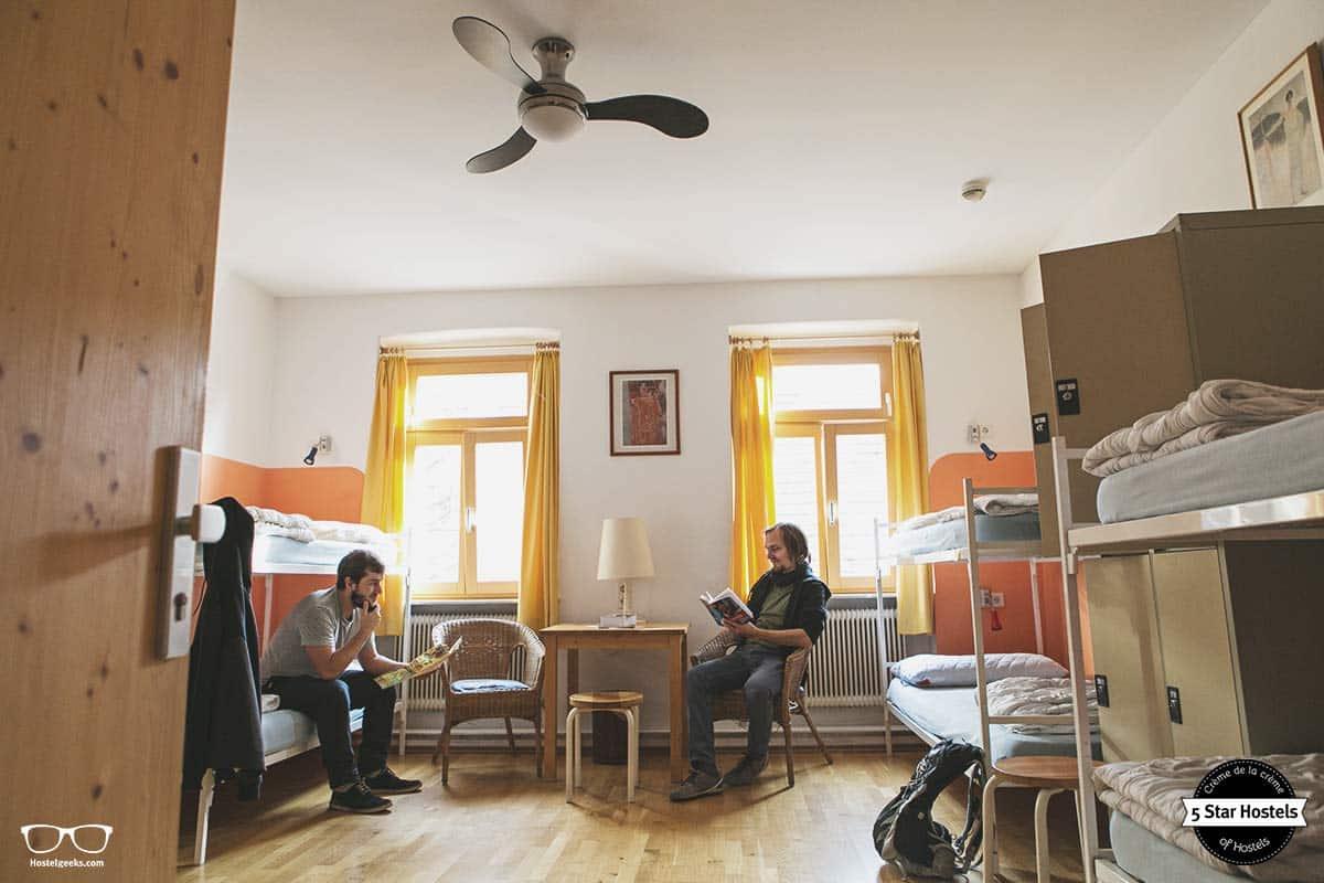 The dorms at Hostel Ruthensteiner