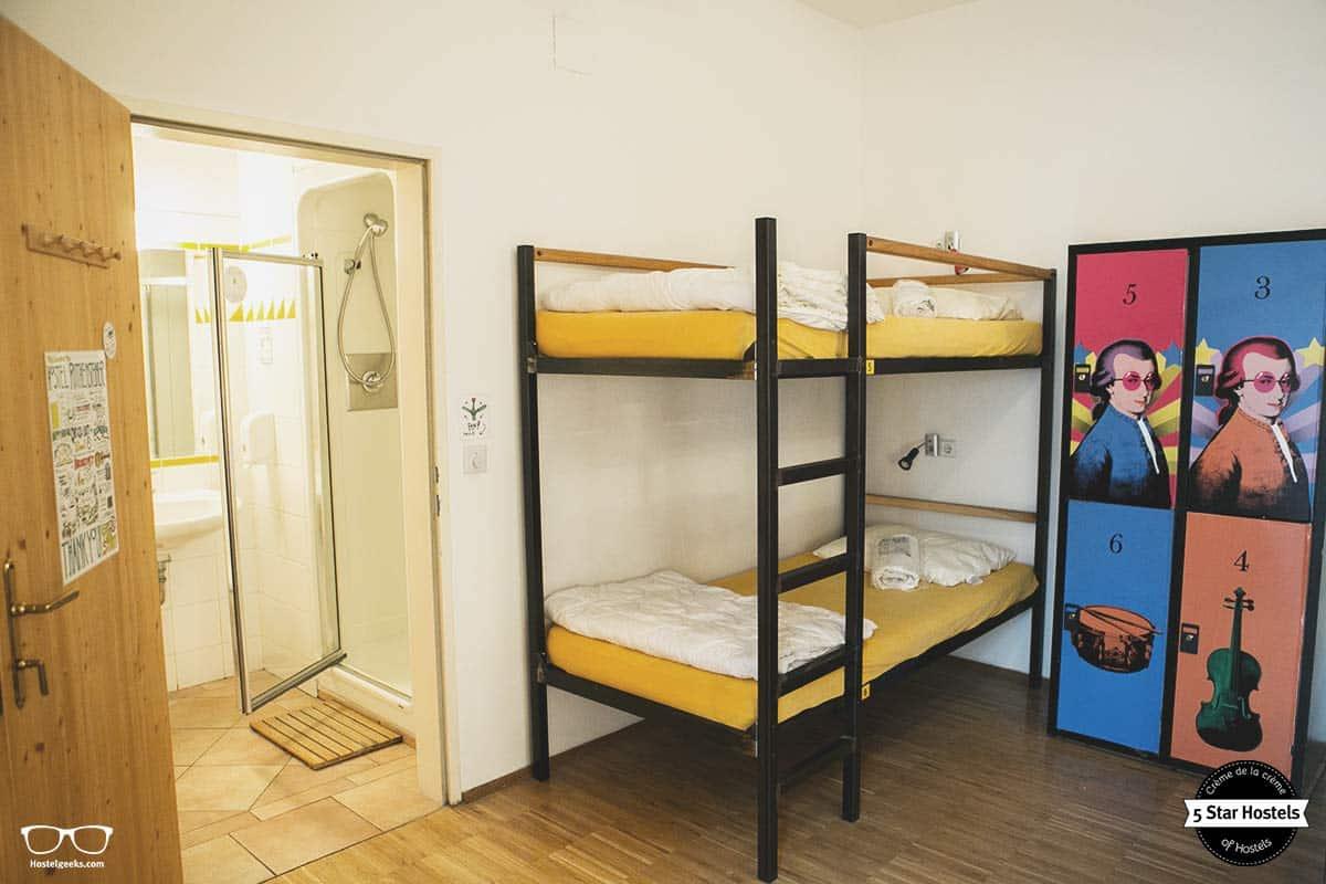 The Mozart Room at Ruthensteiner Hostel