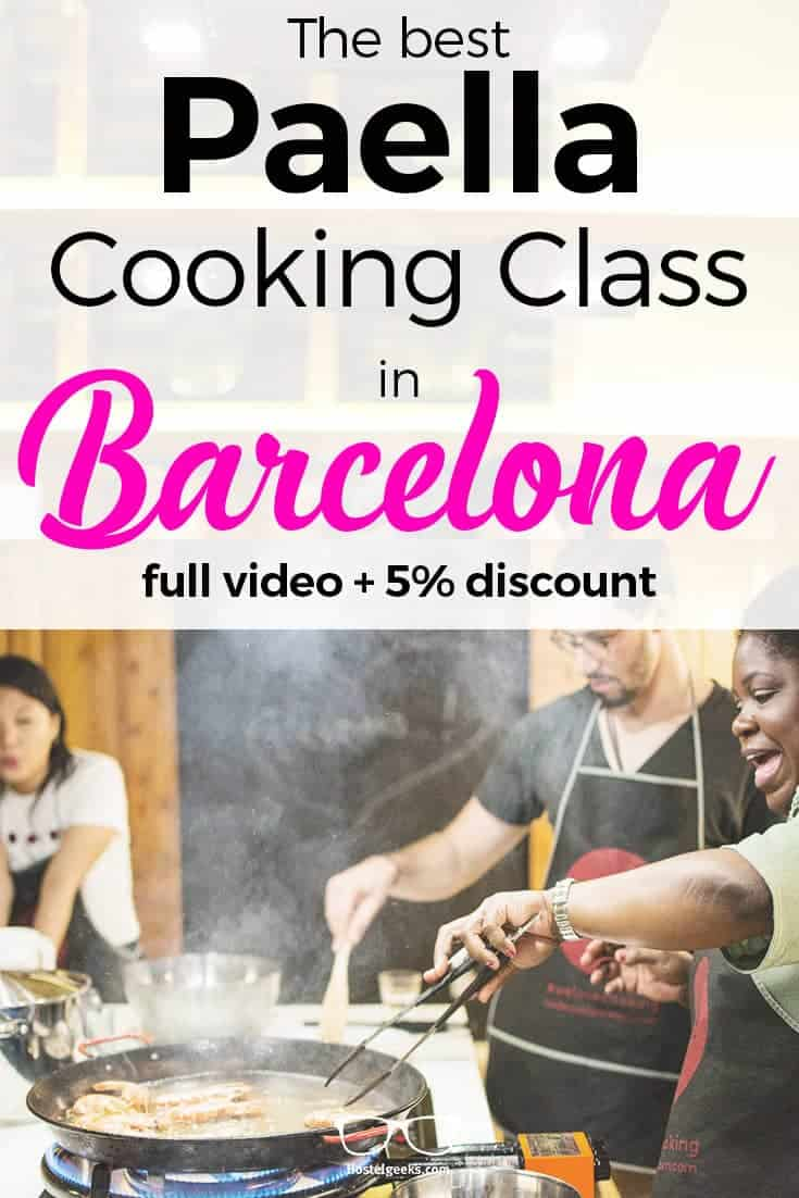 Foodie experience barcelona review 2018 5 discount code foodie experience barcelona cooking class with locals fandeluxe Gallery