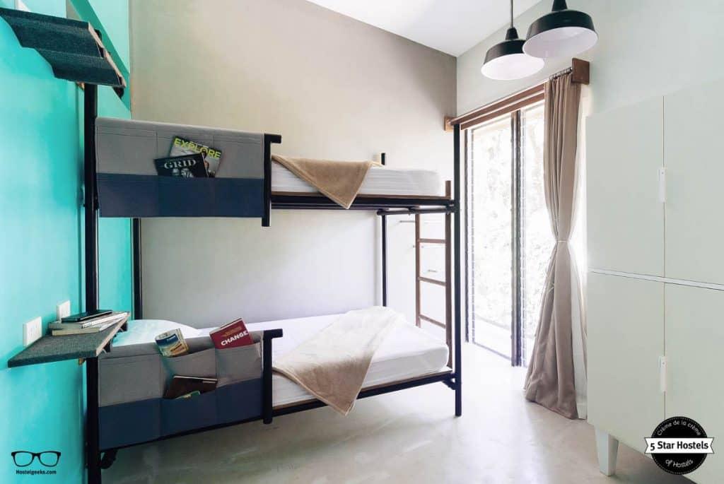 Design room at the 5StarHostel Spin Designer Hostel El Nido Palawan