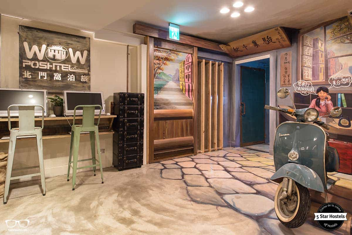 Welcome to Wow Poshtel Taipei, in Taiwan