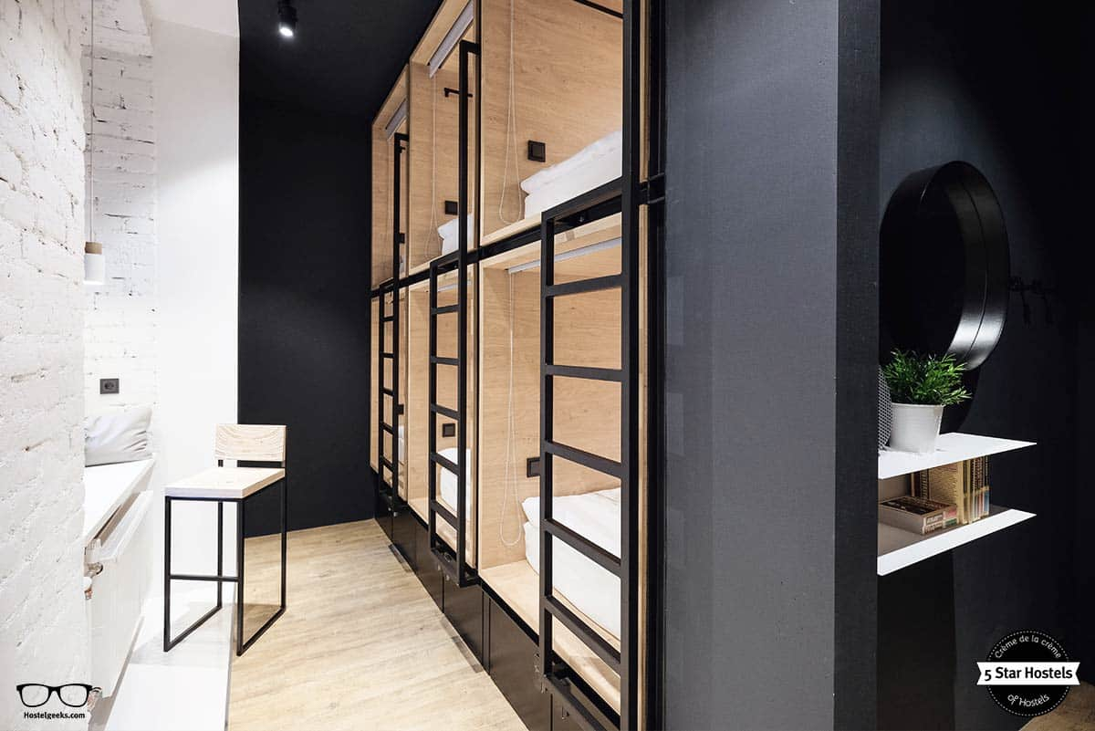 6 Dorm at inBox Capsule Hotel Saint Petersburg