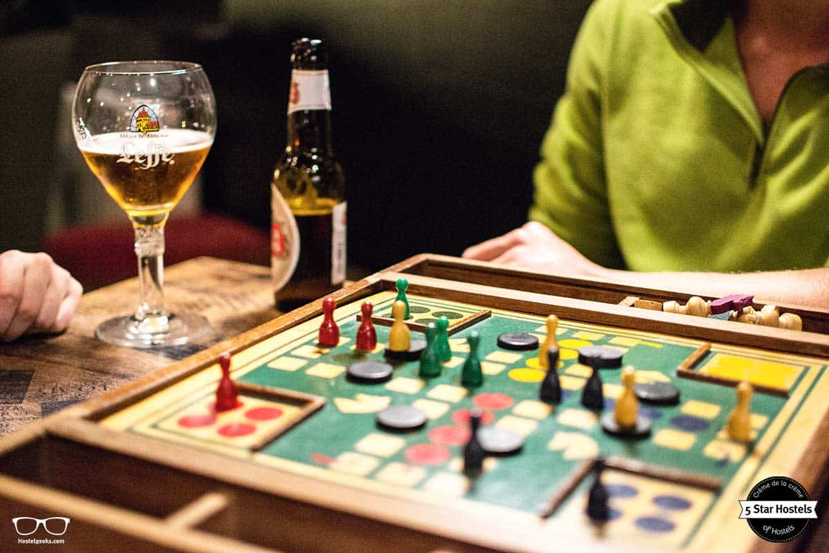 Dare to play at Cube Hostel Leuven