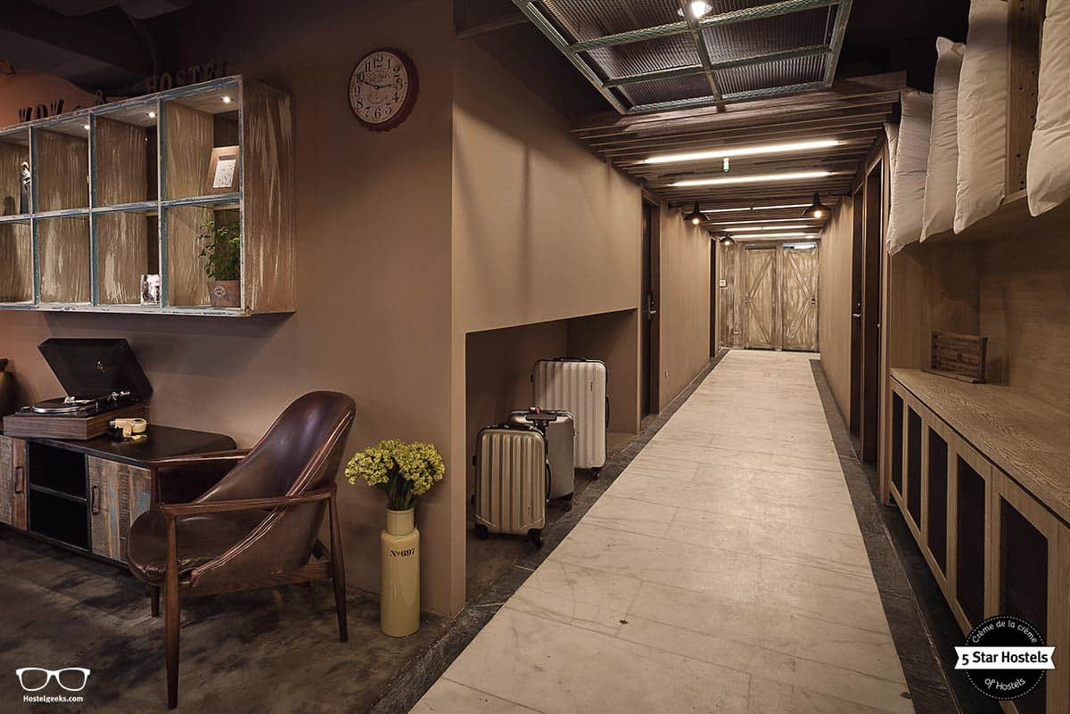 Ximen wow hostel taipei taiwan the awarded best for Design hotel ximen