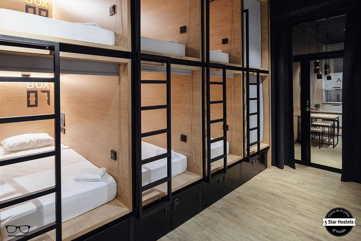 Dorm at inBox Capsule Hotel Saint Petersburg