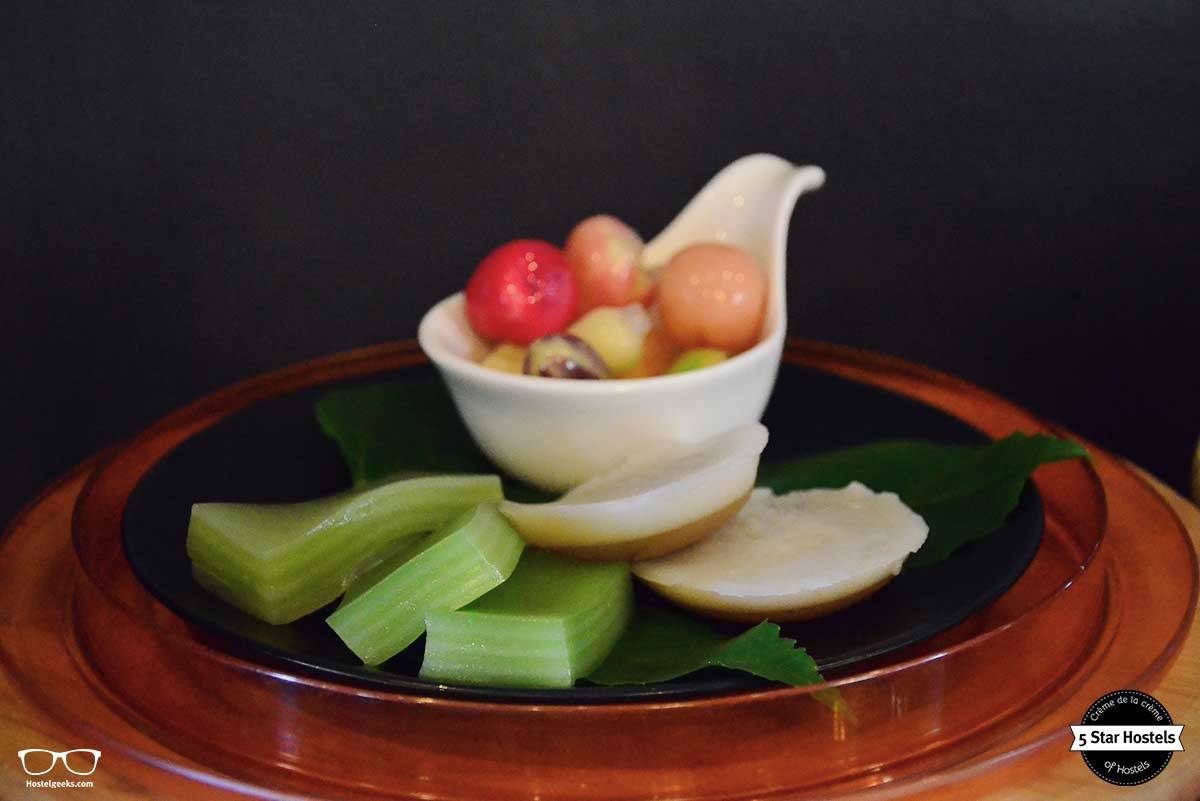 Fruit at SleepClub Hostel Krabi