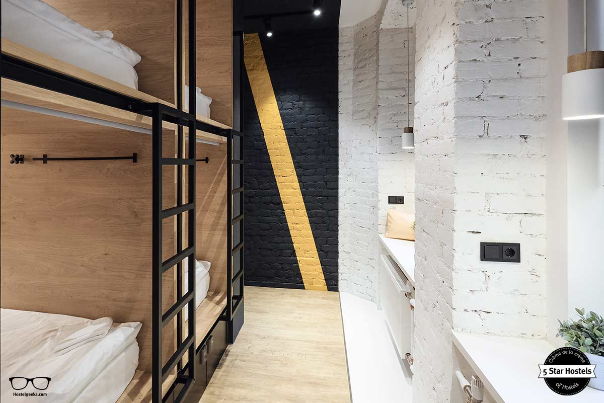 dorm at inBox Capsule Hotel