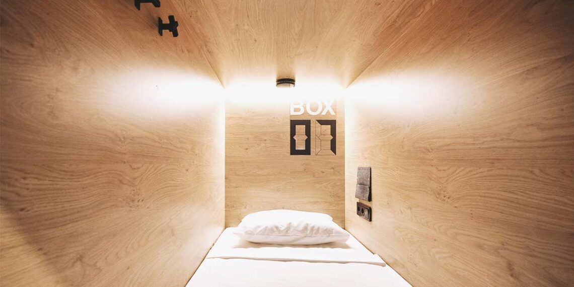 inBox Capsule Hotel in St Petersburg - Capsule beds to cherish your own space