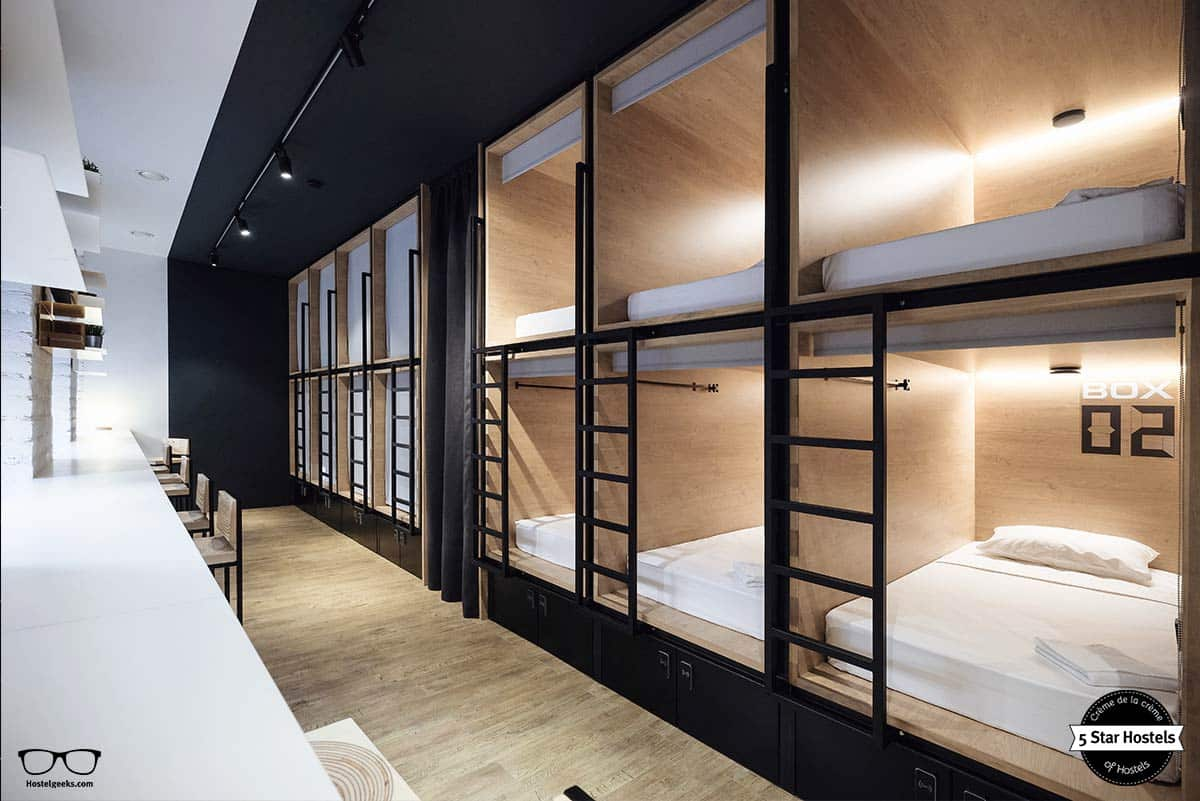 inBox Capsule Hotel Saint Petersburg dorm