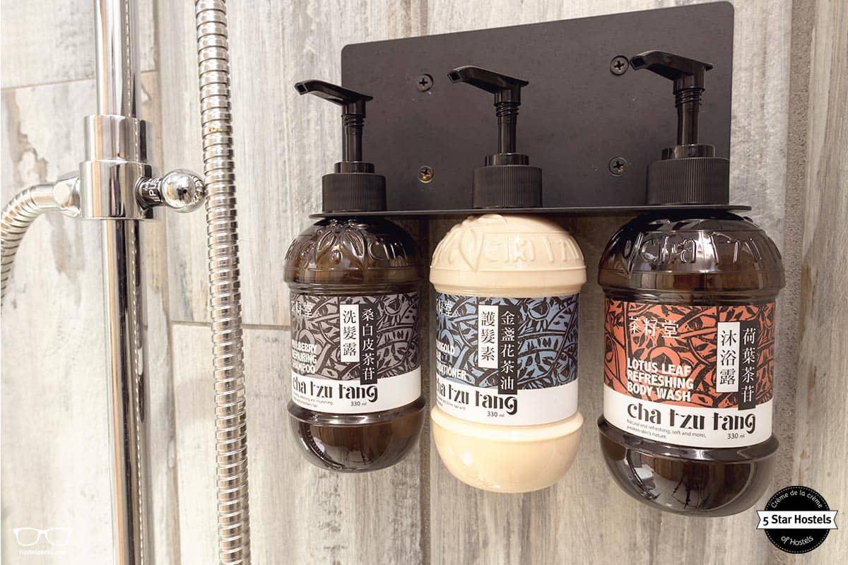 Shampoo included at Wow Poshtel